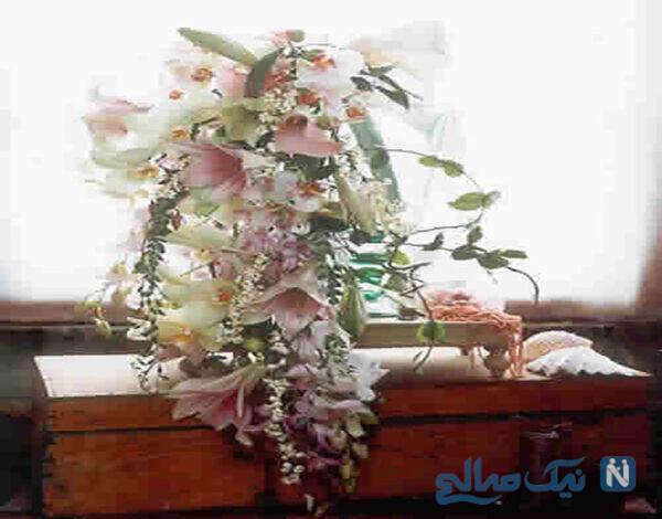 دست گل عروس متفاوت