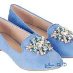 زیباترین مدلهای کفش دخترانه تخت مخصوص بهار +تصاویر