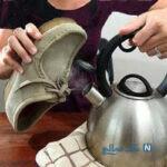 کفش های مخمل خود را به راحتی با این روش تمیز و زیبا کنید