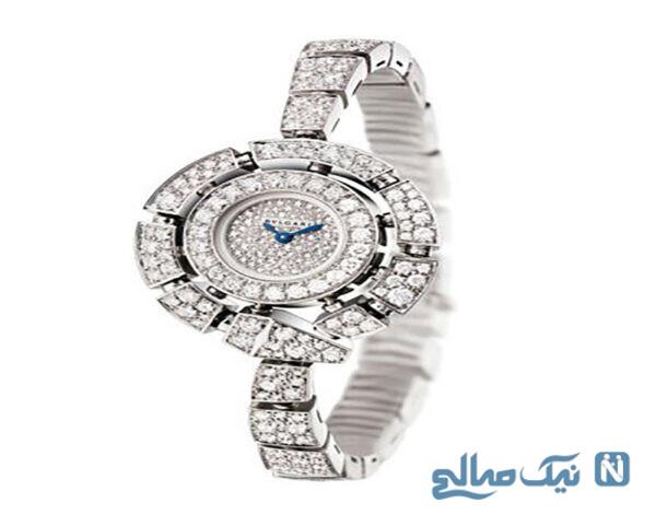 زیباترین ساعت های الماس زنانه برند Bulgari