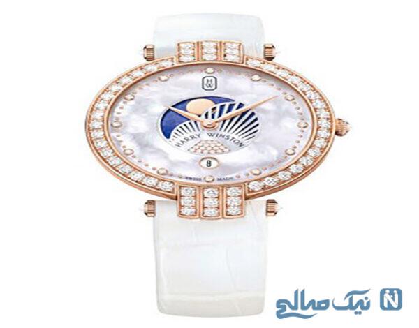 ساعت الماس برند Harry Winston