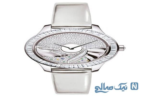 چند مدل از زیباترین ساعت های الماس زنانه