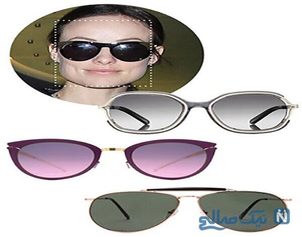 مدل عینک مربع