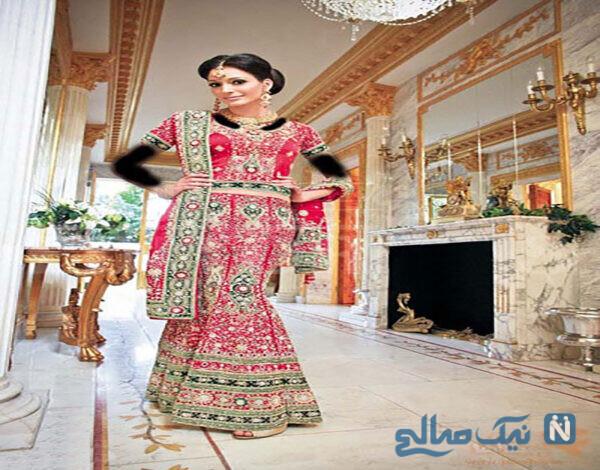 مدلهای زیبا و شیک لباس هندی