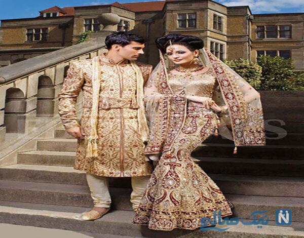 انواع لباس عروس هندی جدید