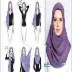 بستن شال و روسری مجلسی متناسب با شکل صورت / زیبایی را دوچندان کنید+تصاویر
