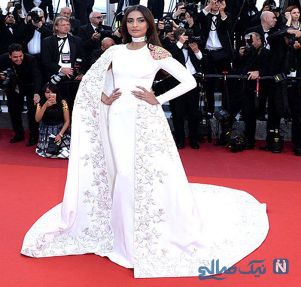مدل لباس سونام کاپور Sonam Kapoor در پنجمین روز جشنواره کن