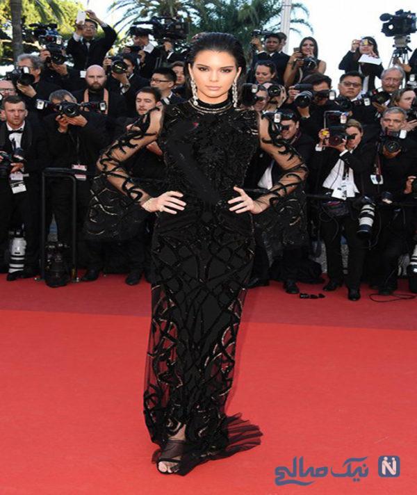 مدل لباس کندال جنر Kendall Jenner در پنجمین روز جشنواره کن