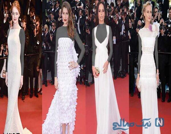 سفید برفی و مدل لباس جشنواره کن