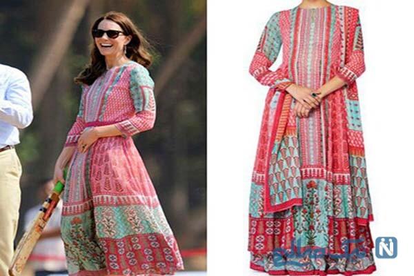 زیباترین مدل لباس های هندی کیت مدیلتون