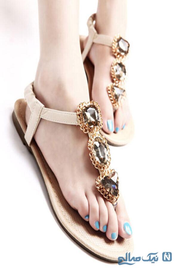 کفش تابستانی مجلسی