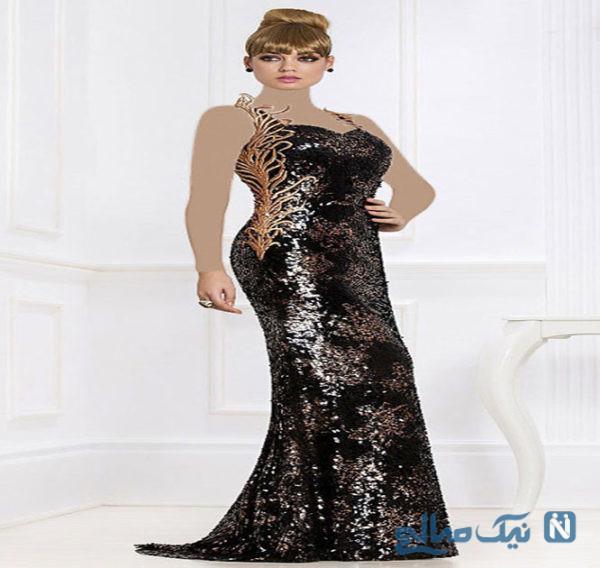 شیک ترین مدل لباس شب