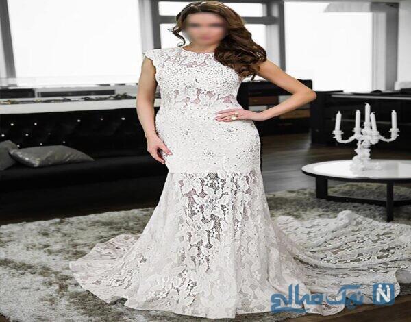 مدل ساده ی لباس عروس