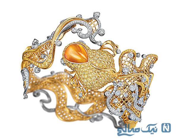دستبند جواهر Larry و مدل جواهرات شیک و جدید