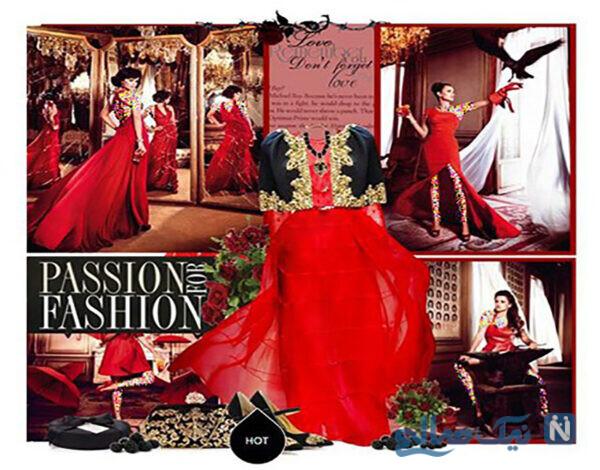 ست کردن با لباس قرمز به سبک پنه لوپه کروز