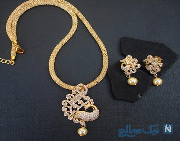 مدل جواهرات زیبا برند MAGHA STORE