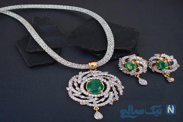 مدل جواهرات زیبا با برند Magha Store