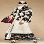 مدل های مانتوهای عربی از برند D&G