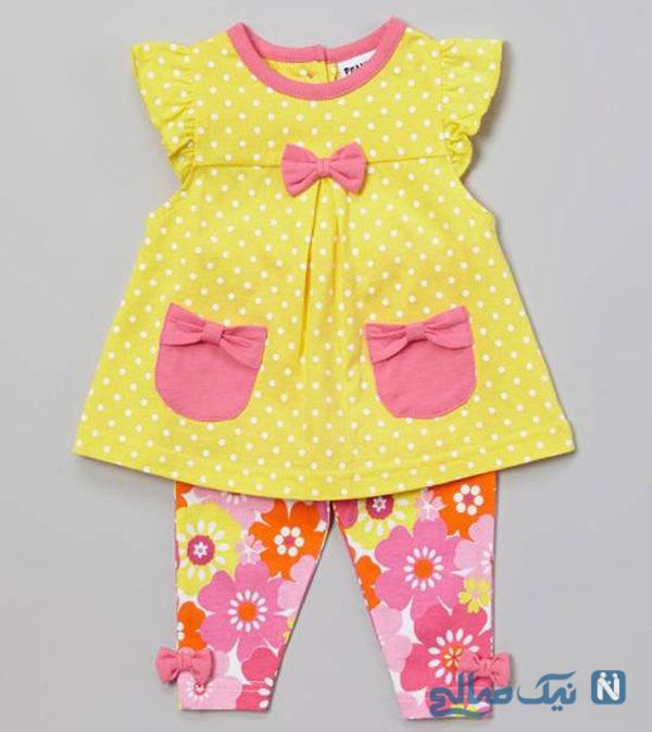 مدل لباس تابستانه دختربچه