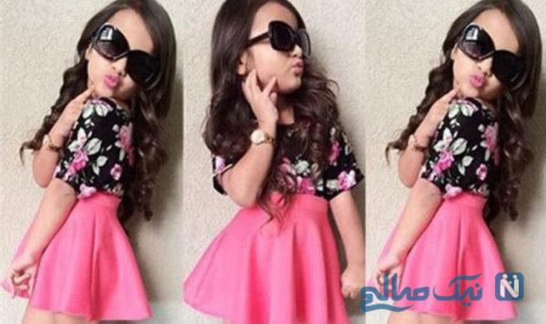 جدیدترین مدل لباس تابستانه دختربچه +تصاویر