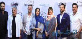 مدل لباس بازیگران ایرانی در مهمانی بارکد
