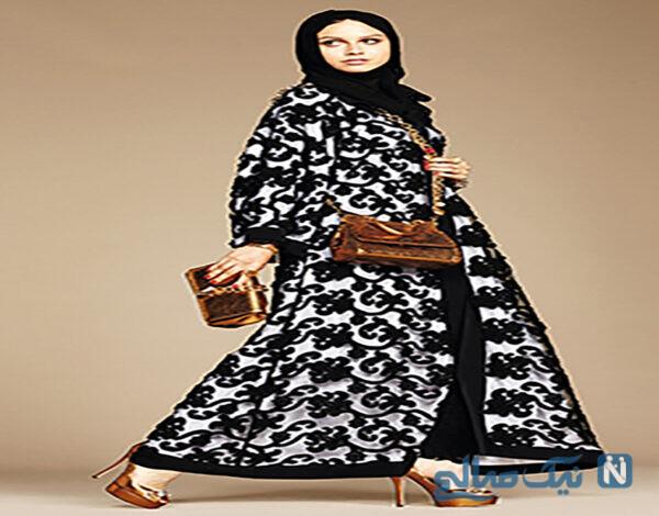 جدیدترین مدل مانتو محجبه لبنانی