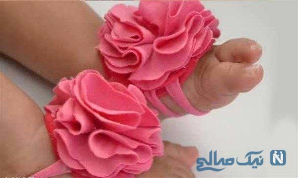 مدل پابندهای زیبای نوزادی +تصاویر
