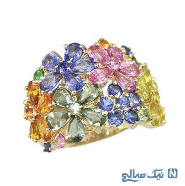 انگشترهای جواهر
