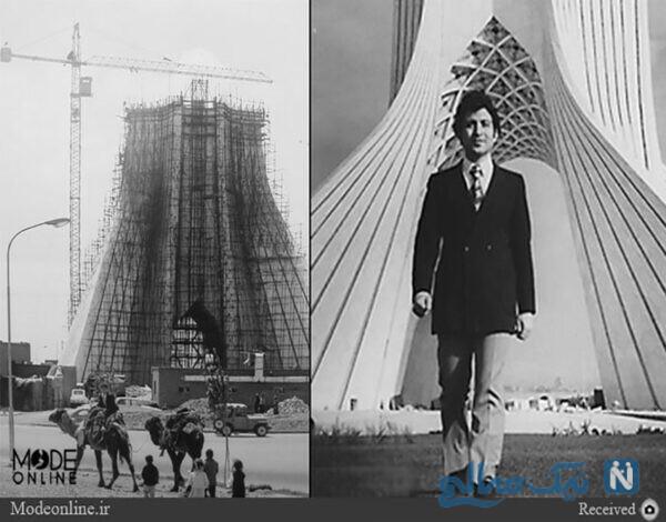 طرح خلاقانه از برج آزادی