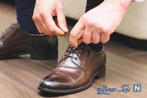 عادت کردن به کفش