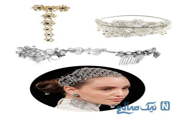 جدیدترین مدل های تاج و تل و تور عروس