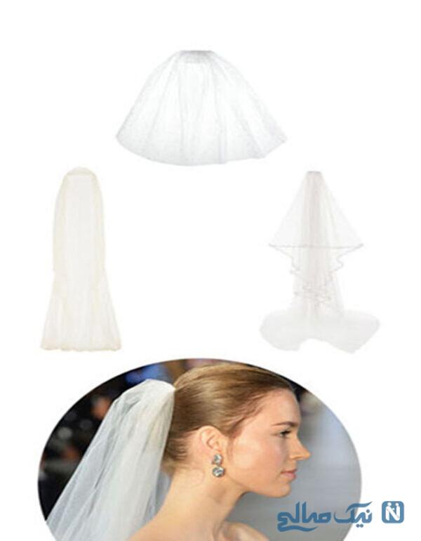 تور کلاسیک عروس