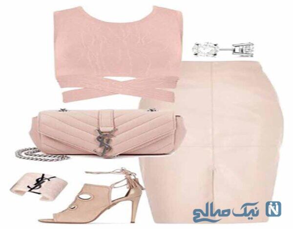 ست لباس های ساده