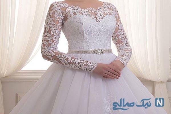 زیباترین و جذاب ترین مدل های لباس عروس پوشیده