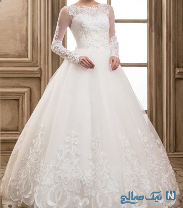 مدل های لباس عروس پوشیده