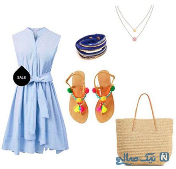 لباس به رنگ آبی