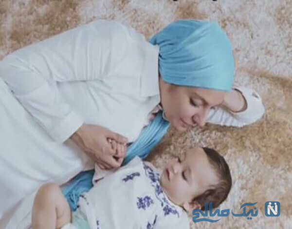 تصاویر و فیلم جالب از بازی مهناز افشار و دخترش لیانا