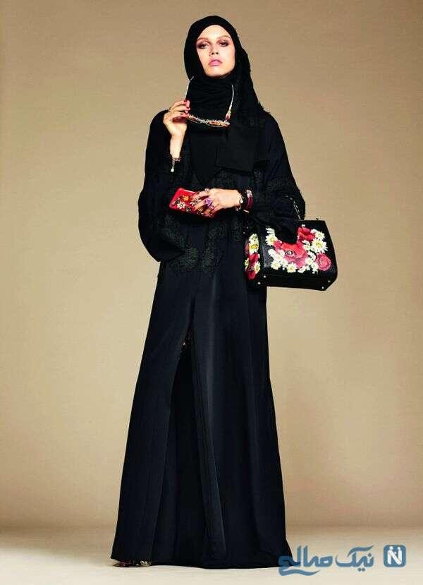 لباسهای پوشیده برای زنان مسلمان از برند دولچه گابانا
