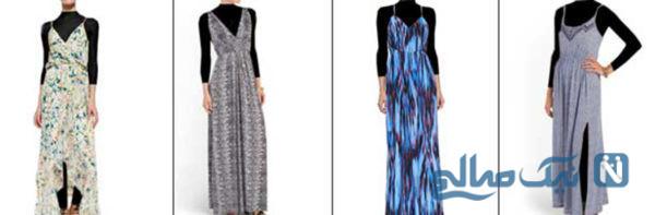 لباسهای ماکسی بهترین انتخاب برای شیک بودن در تابستان+تصاویر