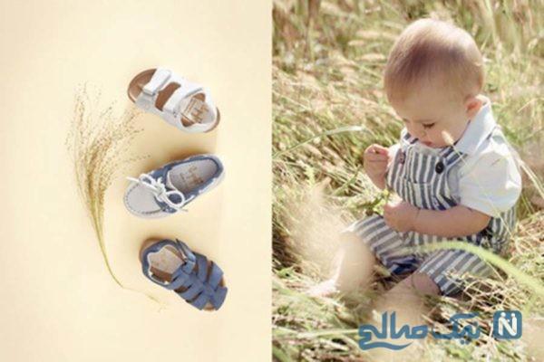 مدل کفش تابستانه بچه گانه