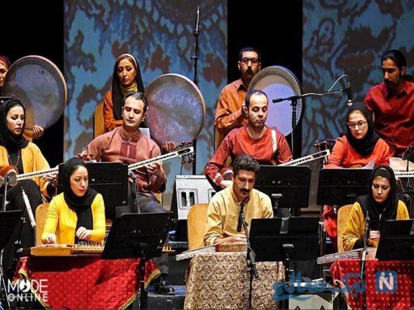 ایجاد حس ایرانی بودن ، با استفاده از لباس سنتى در گروه های موسیقی +تصاویر