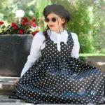 جدیدترین مدل های سارافون زنانه ، با ترکیبی از رنگ های تابستانی +تصاویر