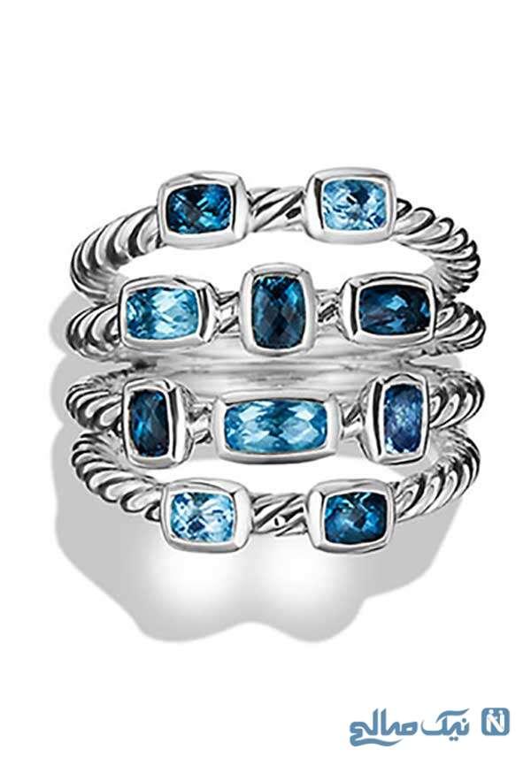 مدل حلقه های میدی رینگ