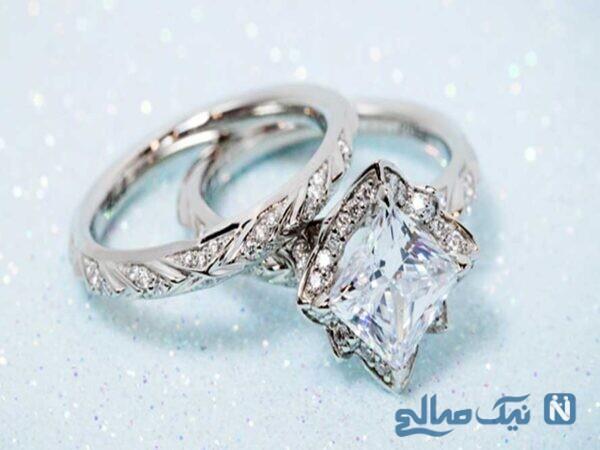حلقه های رمانتیک عروسی