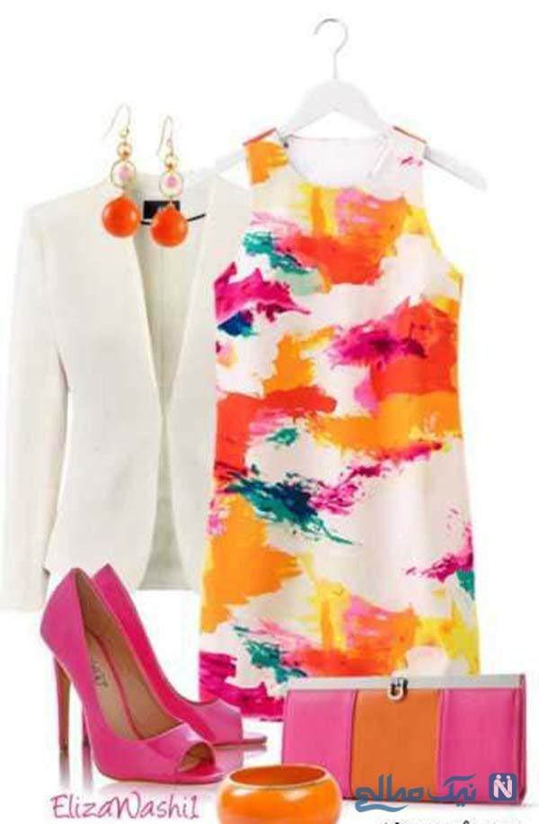 ست لباس زنانه و دخترانه