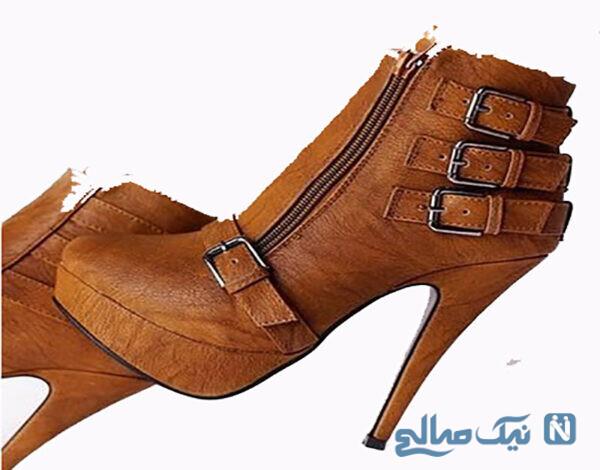 کفش زنانه پاشنه بلند مجلسی