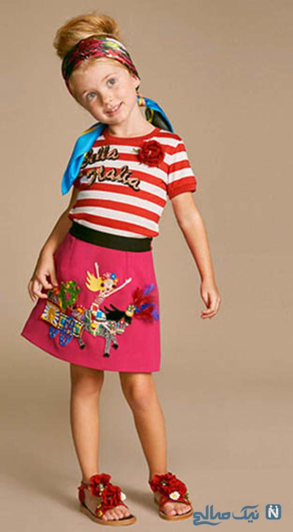 لباس تابستانه کودک