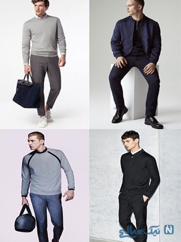 ترکیب رنگ برای لباس پوشیدن مردان کوتاه قد