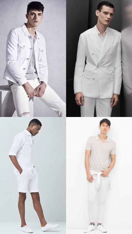ست کرن لباس با رنگهای سیاه و سفید