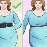 اگر شکم بزرگی دارید برای لباس پوشیدن این اصول را رعایت کنید تا نقض ظاهرتان را بپوشانید +تصاویر